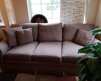 State of Hickory sofa