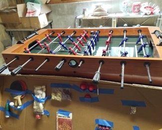 Fuseball and game table