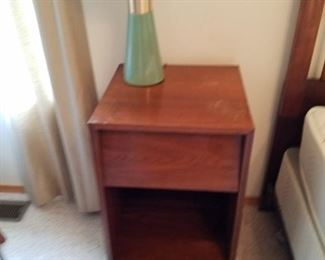 Nightstand and lamp,  there are 2 of these lamps