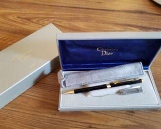 Christian Diir vintage pens