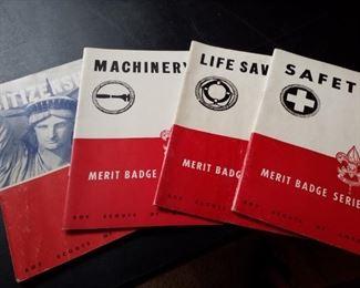 Merit badges books