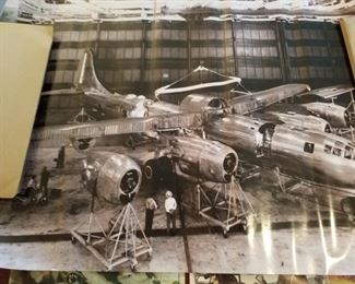 Old B-29 plant poster