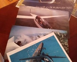 Airplane and glider pictures