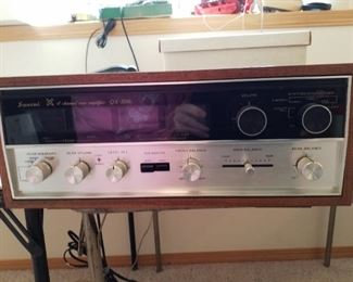 Sansui 4 channel rear Amplifier OS-500  Brand new in the box