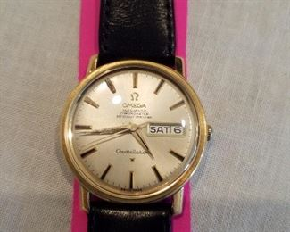 Omega Constellation 24 jewelled certified chronometer