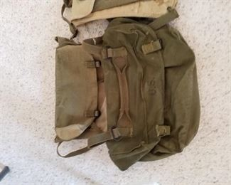 Military bags, there's more