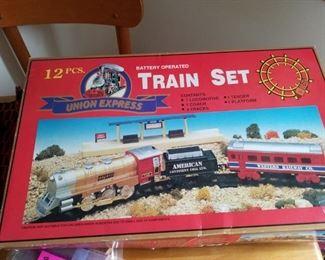 Union Express train set