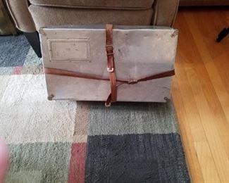 Military metal box