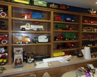 Metal Toy Cars and Trucks from 50 years ago