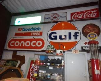 Large Metal Signs - Many Different types