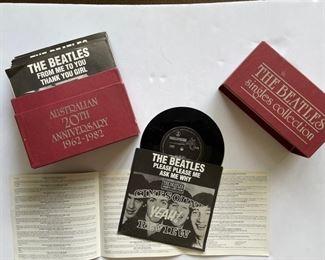 Beatles 45's: https://www.liveauctioneers.com/catalog/200924  ALBUMS: https://www.liveauctioneers.com/catalog/201476
