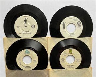 Grateful Dead - 45's: https://www.liveauctioneers.com/catalog/200924  ALBUMS: https://www.liveauctioneers.com/catalog/201476