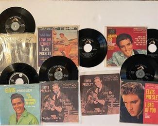 ELVIS - 45's: https://www.liveauctioneers.com/catalog/200924  ALBUMS: https://www.liveauctioneers.com/catalog/201476