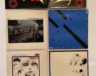 U2 COLLECTOR DISCS - 45's: https://www.liveauctioneers.com/catalog/200924  ALBUMS: https://www.liveauctioneers.com/catalog/201476