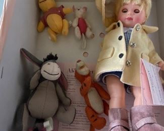 Madame Alexander Christopher Robin and Friends $65.00