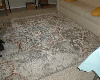 Almost new rug from DAU..very muted colors