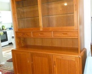 Teak China Cabinet from House of Denmark