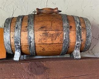 Early Wooden Keg