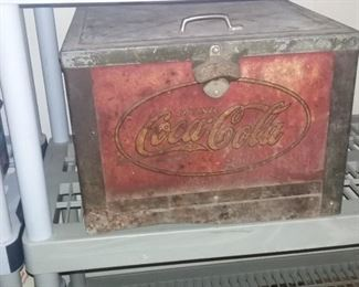 Vintage Coca-Cola insulated cooler