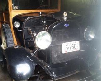 Classic Vintage Model A Automobile