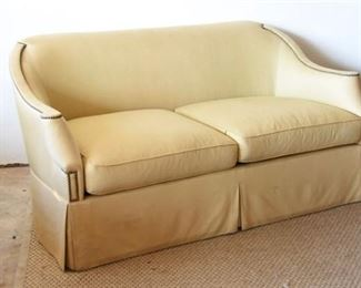 5. Hickory Chair Company Upholstered Settee