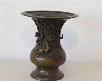 10. Chinese Bronze Vase