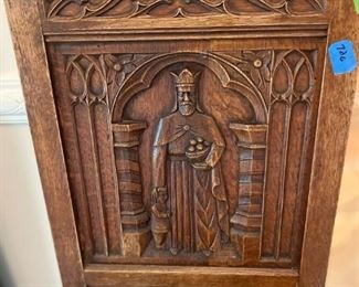 Gothic European Monastery Dining Room Chair,