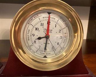 WEEMS & PLATH Clock & Barometer,