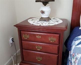 Queen bedroom suite - night stand