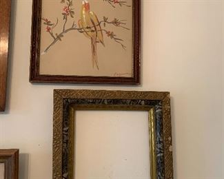 Very old frame