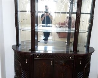 Beautiful lacquered china cabinet