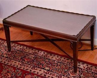 6. Mahogany Coffee Table