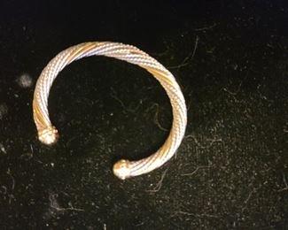 14K and Sterling bracelet.