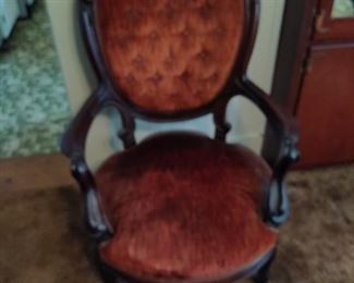 Round Top  Parlor Chair