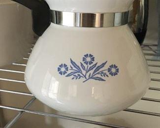 "Corning Ware Tea Pot ""Cornflower Blue"""