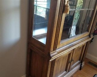 SOUTHERN FURNITURE LARGE GLASS FRONT CABINET 600.00