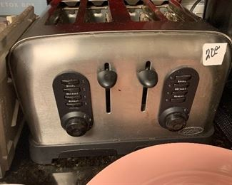 Stainless 4 slot Toaster $20