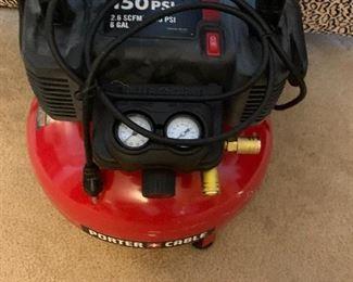 (Needs Hose) Porter Cable 6G Air Compressor $50