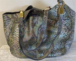 Brahmin Marianna Moonstone Seville Melbourne Leather Bag