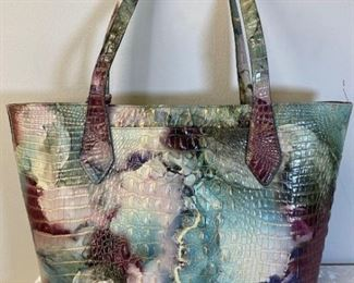 Brahmin Berry Mint Athena Melbourne Handbag