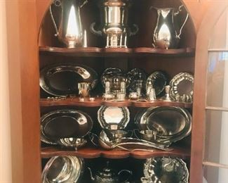 Collection of Sterling and Silverplate.