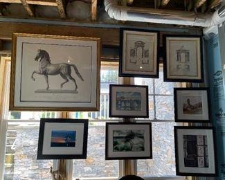 Beautiful custom framed artwork