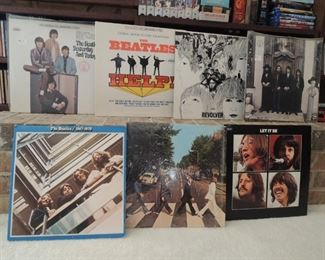 LOVE the BEATLES?  Memorabilia, collectibles, DVD and VHS movies and concerts // Music CDs, Vinyl record albums