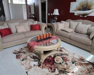 Matching sofas