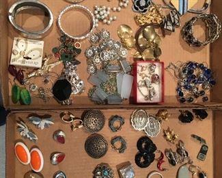 Various Costume Jewelry Pieces