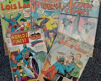 DC comics from the 1960's