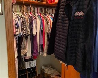 Women's clothing, shoes and purses