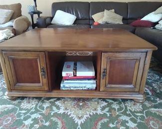 Hardwood large Coffee table