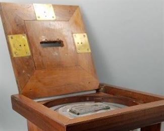 Antique National Ballot Box