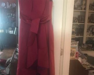 $250: Shoshanna Midnight Silk Cocktail Dress, Size 10